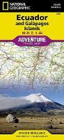 Ecuador And Galapagos Islands: Travel Maps International Adventure Map (Sheet map, folded)