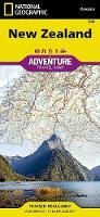 New Zealand: Travel Maps International Adventure Map (Sheet map, folded)