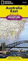 Australia, East: Travel Maps International Adventure Map (Sheet map, folded)