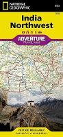 India, Northwest: Travel Maps International Adventure Map (Sheet map, folded)