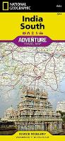 India, South: Travel Maps International Adventure Map (Sheet map, folded)