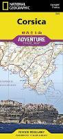 Corsica: Travel Maps International Adventure Map (Sheet map, folded)