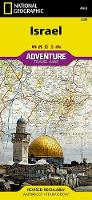 Israel: Travel Maps International Adventure Map (Sheet map, folded)