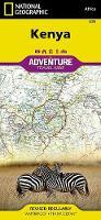 Kenya: Travel Maps International Adventure Map (Sheet map, folded)