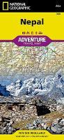 Nepal: Travel Maps International Adventure Map (Sheet map, folded)