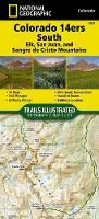 Colorado 14ers South [san Juan, Elk, And Sangre De Cristo Mountains] Adventure Map (Sheet map, folded)