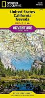 United States, California And Nevada Adventure Map (Sheet map, folded)