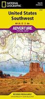 United States, Southwest Adventure Map (Sheet map, folded)