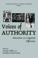 Voices of Authority: Education and Linguistic Difference (Hardback)