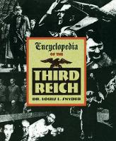 Encyclopedia of the Third Reich (Paperback)