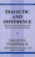 Dialectic And Difference (Paperback)
