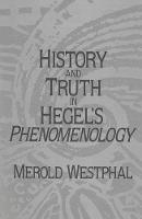 History and Truth in Hegel's Phenomenology (Paperback)