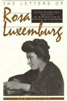 Letters of Rosa Luxemburg (Paperback)