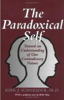 The Paradoxical Self: Toward an Understanding of Our Contradictory Nature (Paperback)