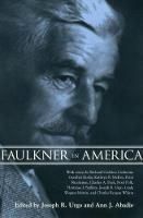 Faulkner in America (Paperback)