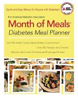The American Diabetes Association Month of Meals Diabetes Meal Planner (Paperback)