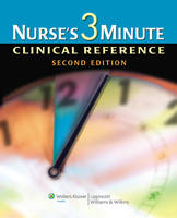 Nurse's 3-minute Clinical Reference (Hardback)