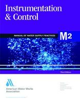 M2 Instrumentation & Control - Manual of Water Supply Practices (Paperback)