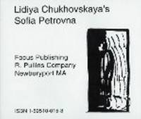 Lidiya Chukovskaya's Sofia Petrovna (CD-Audio)
