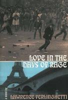 Love In The Days Of Rage (Paperback)