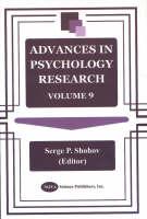 Advances in Psychology Research: Volume 9 (Hardback)