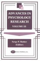 Advances in Psychology Research: Volume 11 (Hardback)