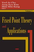 Fixed Point Theory & Applications, Volume 3 (Hardback)
