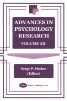 Advances in Psychology Research: Volume 12 (Hardback)