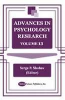Advances in Psychology Research: Volume 13 (Hardback)
