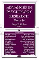 Advances in Psychology Research: Volume 14 (Hardback)