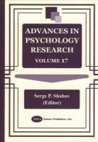 Advances in Psychology Research: Volume 17 (Hardback)