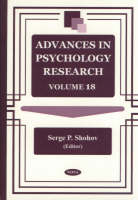 Advances in Psychology Research: Volume 18 (Hardback)