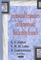 International Perspectives on Chemistry & Biochemistry Research (Paperback)