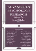 Advances in Psychology Research: Volume 24 (Paperback)