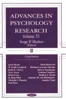 Advances in Psychology Research: Volume 31 (Hardback)