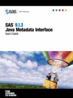 SAS(R) 9.1.3 Java Metadata Interface
