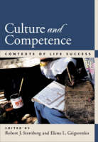 Culture and Competence: Contexts of Life Success (Hardback)