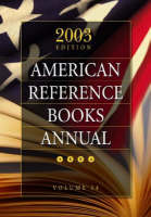 American Reference Books Annual: V. 34