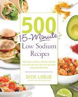 500 15-Minute Low Sodium Recipes (Paperback)