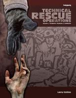 Technical Rescue Operations: Planning, Training, And Command - Technical Rescue Operations (Hardback)