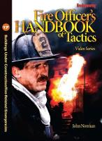 Buildings Under Construction/Fire-Related Emergencies - Fire Officer's Handbook of Tactics Video Series (DVD video)
