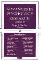 Advances in Psychology Research: Volume 34 (Hardback)