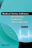 Medical Device Software Verification, Validation, and Compliance (Hardback)