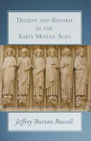 Dissent and Reform in the Early Middle Ages (Paperback)
