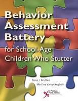 The Behavior Assessment Battery SSC-ER-Speech Situation Checklist Reorder Set: Section 1 (Paperback)