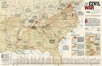 Battles Of The Civil War, Tubed: Wall Maps History & Nature (Sheet map, rolled)