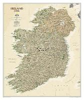 Ireland Executive, Tubed: Wall Maps Countries & Regions (Sheet map, rolled)