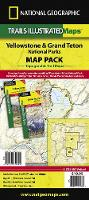Yellowstone/grand Teton National Parks, Map Pack Bundle: Trails Illustrated National Parks (Sheet map, folded)