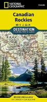 Canadian Rockies: Destination Map (Sheet map, folded)