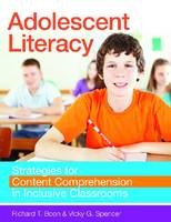 Adolescent Literacy: Strategies for Content Comprehension in Inclusive Classroom (Paperback)
